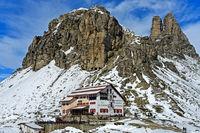 Dreizinnenhütte, Sextner Dolomiten, Südtirol, Trentino-Alto Adige, Italien