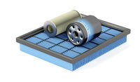 Set of automotive filters