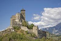 Notre-Dame de Valère  in Sitten in der Schweiz