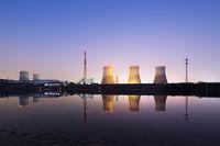 power plant near river