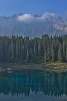 Lake Carezza, Italy, Europe