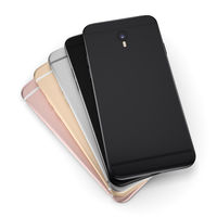 3D rendering set smart phone with black screen