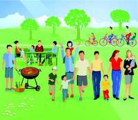 Familien Picknick.eps