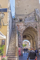 Porta Catania Gate Taormina, Italy