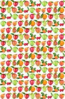 Früchte Hintergrund Apfel Orange Frucht Äpfel Orangen Kirschen Obst