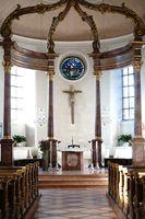 Altar St. Georg Kirche Nieder-Olm