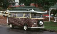 Lustiger VW-Bus