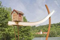 Kunstwerk im Donaupark