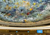 Kuppeldecke von Miquel Barcelo, Saal der Menschenrechte und der Allianz der Zivilisationen