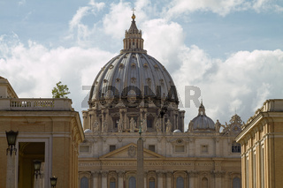 Saint Peters Basilica in Vatican City Italy