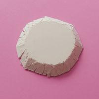 Geometric figure of flour