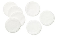 Cotton Pads Isolated on White Background