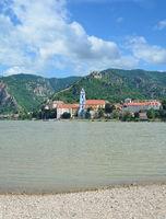 Weinort Duernstein an der Donau in der Wachau,Niederoesterreich