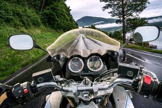 Biker First-person view