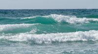 Tidal waves at sea