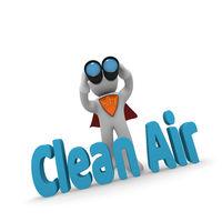 3d concept Clean Air