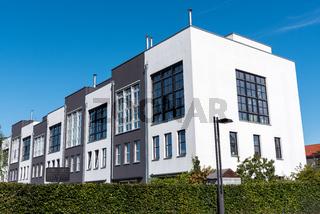 Moderne Reihenhäuser in Berlin, Deutschland