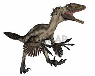 Deinocheirus dinosaur - 3D render