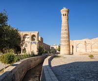Minaret Khoja Kalon in Bukhara