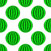 Fresh Ripe Green Watermelon