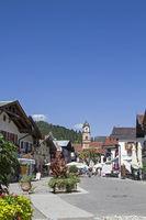 Mittenwald - Flaniermeile im Zentrum
