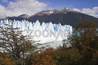 herbst am Perito Moreno Gletscher, Argentinien, autumn at glacier Perito Moreno, Argentina