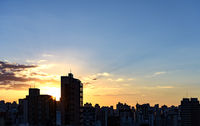 Skyline of Belo Horizonte city