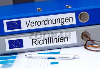 EU Verordnungen und EU Richtlinien