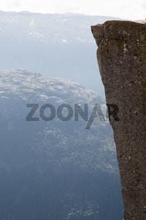 The Preikestolen Cliff Panorama