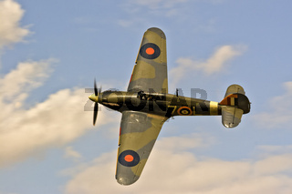 UK Duxford Hawker Sea Hurricane