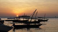 Tanasania Sansibar Hafen