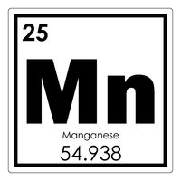 Manganese chemical element