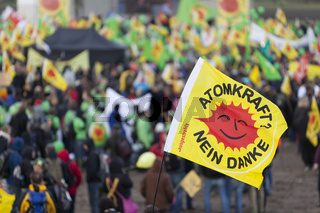 Castor-Demo in Danneberg