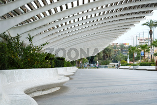 Promenade of Torrevieja. Costa Blanca. Spain