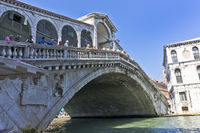 Venice, Rialto Bridge, Italy