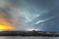 Aurora Borealis Northern Light Iceland