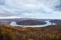 Landscape of the river Danube