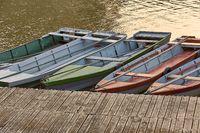 Fishing Boats at a Pier