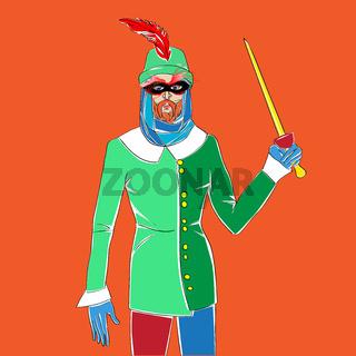 carnival man costume