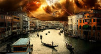 Thunderstorm in Venice