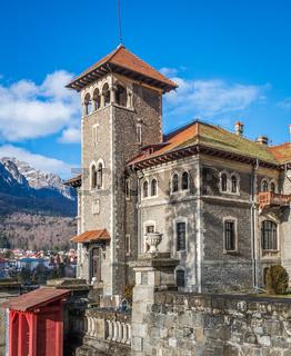 Cantacuzino Castle in Busteni Romania