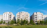 Modernes Wohngebiet in Berlin