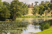 The Gothic Temple On The Hill Stowe Gardens Buckinghamshire UK