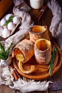 a fresh and tasty Kurtoskalacs