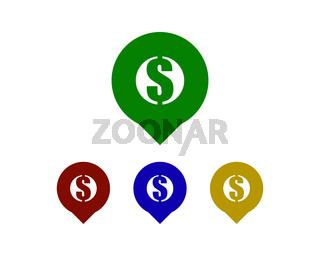 dollar point map