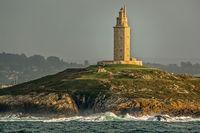 Tower Of Hercules La Coruna, Galicia, Spain
