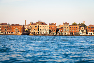Venice waterfront from Zattere