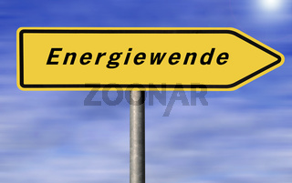 Schild Energiewende