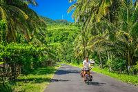 Cycling through Sumbava