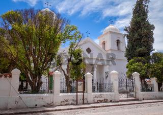 Humahuaca church, Argentina